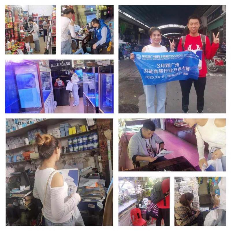 水族展地推进行中!广州芳村越和花鸟鱼虫大世界宣传实况来了!