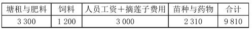 安徽芜湖荷莲与小龙虾共生高效养殖模式